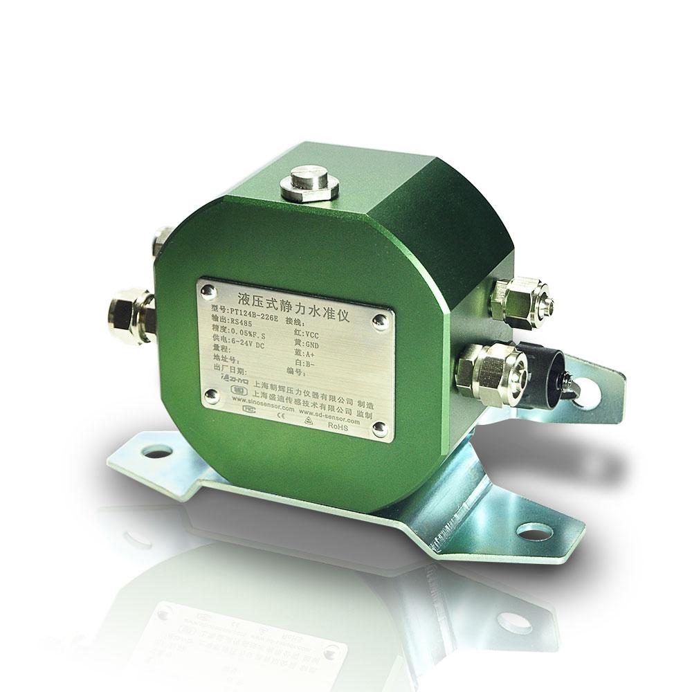 Structural settlement monitoring sensor