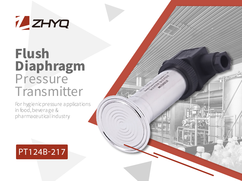 flush diaphragm transmitters