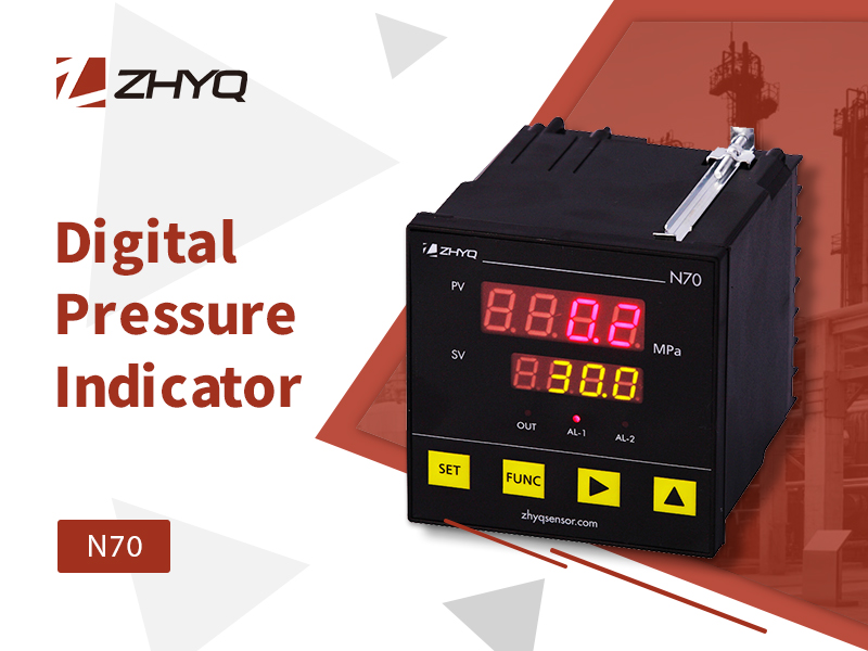 digital pressure indicator