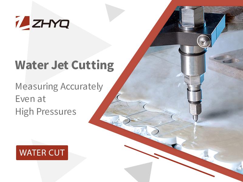 high pressure water jet sensor